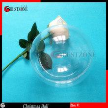 12cm transparent plastic hanging ball