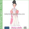 12 polegadas moda abs cabeça de boneca de plástico