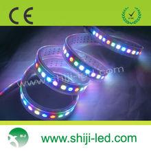 144 LEDs WS2812 addressable dmx rgb led strip
