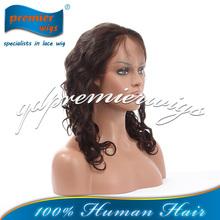 hot sale Brazilian virgin human hair wigs-loose curl texture