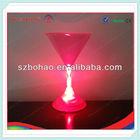 Alibaba China LED Plastic Martini Glass