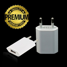 USB Universal Travel Charger & Wall Adapter Charging Port EU Plug for iPhone 5 5S 5C