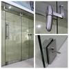 Stainless steel office entry doors swing pivot glass door
