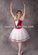 Venta al por mayor modernos trajes de baile Ballet muchachas de los niños del vestido