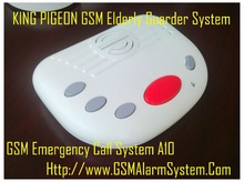 Alone living elderly SOS mobile phone system with watchdog alarm