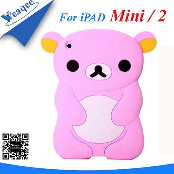 For mini ipad silicone skin case