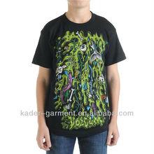 Simple Silk screen printing T shirt