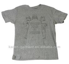 discount short sleeve t shirt for men (100% cotton )