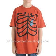 Full organic cotton, printed kids t shirt, short sleeve