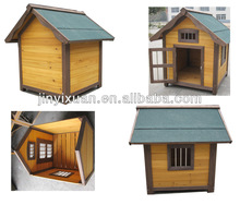 Outdoor Wooden Dog Kennel / Backyard Breeding Cage for Dog