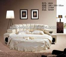 Popular circular bed