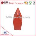de alta calidad baratos decorativos de papel botella de vino de regalo cajas de fábrica en china