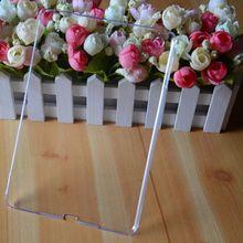 Crystal clear slim hard case cover for apple ipad mini 2
