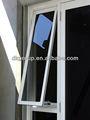 de aluminio de la ventana balcón de hierro forjado de la ventana de la parrilla