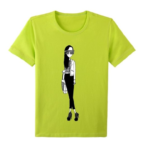 Fashion Printing Different Types of T Shirts