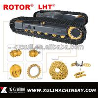 Excavator and bulldozer undercarriage parts