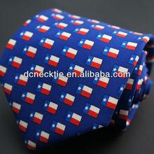 latest printed silk neckties