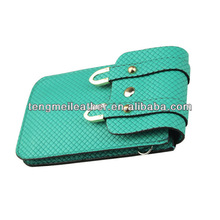 Green Soft Hybrid Leather Case Sleeve Pouch Bag For Samsung Galaxy S3,Color screen protector for samsung galaxy s3