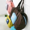 fashional nylon folding bag with pouch