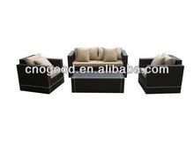Modern 1+2+3 Hand Made Rattan Sofa Set 9060