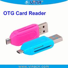 USB OTG SD Mini SD Micro SD Card Reader Writer For Smart Phone