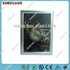 picture frame wall light box aluminum frame