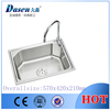 DS5742A single anupam kitchen sinks