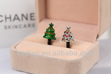 Yueya Christmas series stockinghat and gloves shaoe mobile phone dust plug for iPhone Android 3.6mm