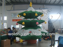Customized commercial outdoor inflatable Christmas Tree