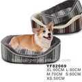 köpek şeklinde yatak kalın ip hatları kumaş yumuşak peluş kürk