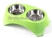 Stainless steel pet bowl, dog bowl, dog cat water bowl