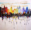 Leonid Afremov Low price art work of new york cityscape oil painting