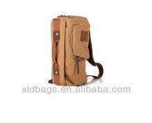 Newest Promotional Canvas Shoulder Messenger Travel Tote Bag Wholesale Guangzhou