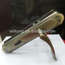 85mm Aluminum iron plate stock door handles