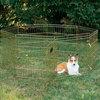 galvanized fence for outside dog