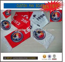 2014 Hot Sell Exquisite Custom Football Muffler Scarf