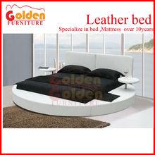 NEW!!! B6804# Modern Platform king size round bed