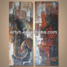 Popular modern handpainted impressionism wall decor manufacturer