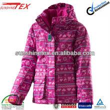 kids nylon sports jackets winter clothing