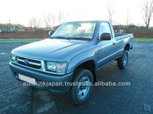 2001-Toyota Hilux 2.5 2dr Single Cab 4X4 (Silver)