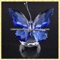 großhandel exquisite billigen kristallglas schmetterling geschenke für hochzeit gast Mitnehmen souvenirs
