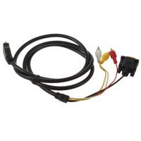 HDMI to VGA Cable 3 RCA Adapter Cable VGA to HDMI Converter