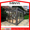 ALUMINUM SUN ROOM/GREY COLOR THERMAL BREAK ALUMINUM SUN ROOM/ALUMINUM SUNROOM