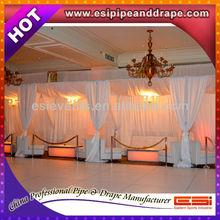 Popular hotel decoration pipe drapes curtain