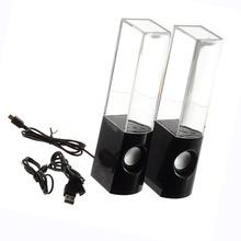 Water Fountain Dancing Water Speakers Water Dancing Speakers LED Lights Computer mobile phone MP3/4