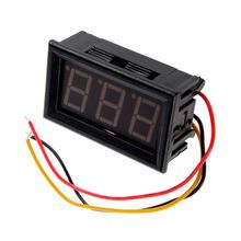 New Mini Types of Digital DC Voltmeter 0-100V LED Vehicles Motor Voltage Panel Meter
