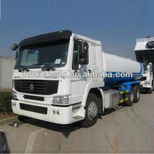 FAW fuel tanker truck dimensions 25000L