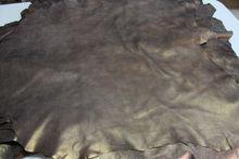 Lambskin leather skin VINTAGE BRONZE