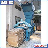 Recycling Industrial Top Quality Hydraulic Press Horizontal Baler Machine To Tie Cardboard