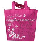 Eco Friendly Non Woven Silk Screen Printing Shopping Bag